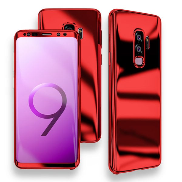 Samsung Galaxy S9 and S9 Plus Case Red