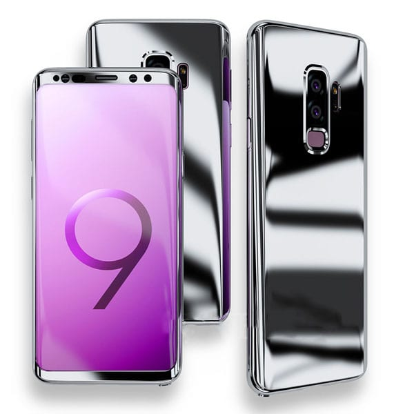 Samsung Galaxy S9 and S9 Plus Case Silver