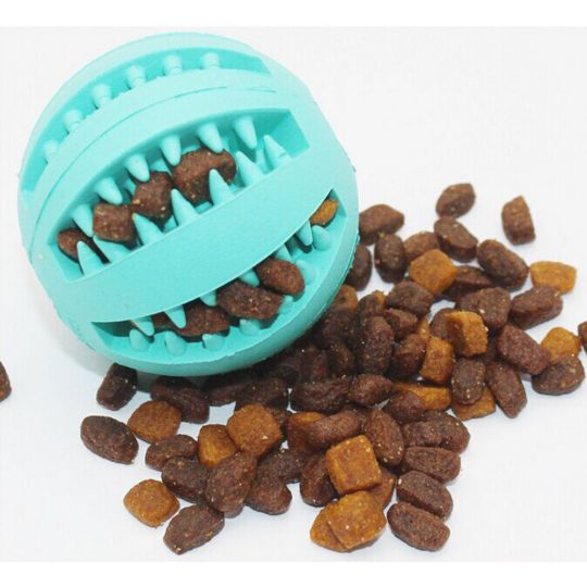 Resistance of rubber ball ball teeth bite of watermelon pet dog toys, bite teeth, tartar cleaning