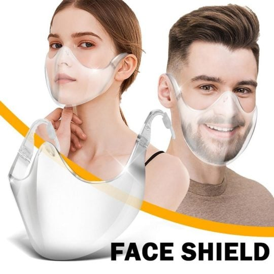 PC transparent protective mask