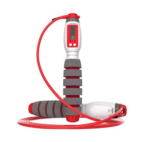 Electronic Counting Jump Rope for Fitness Trainning