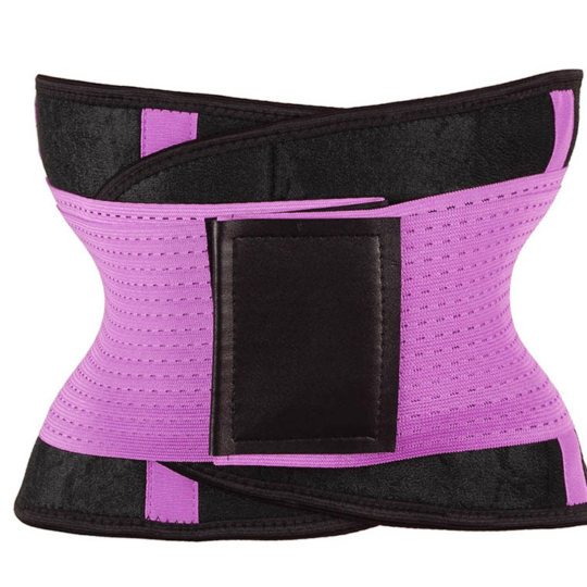 Waist Trimmer Belt Body Shaper Abdominal Trainer Weight Loss Fat Burning Straps